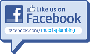 like muccia plumbing on facebook logo