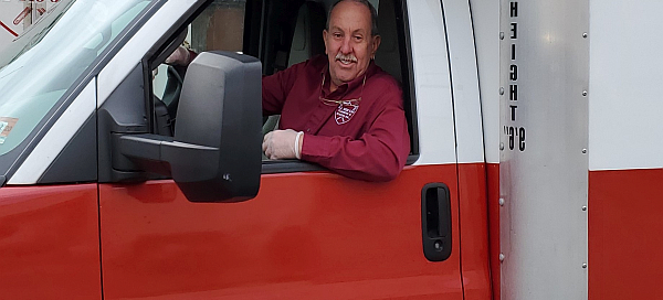Mike in truck